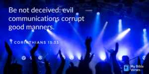 Random Bible verse. Corinthians 15-33